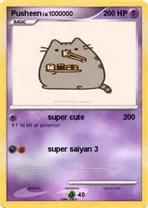 Pusheen Cat Pokemon Cards