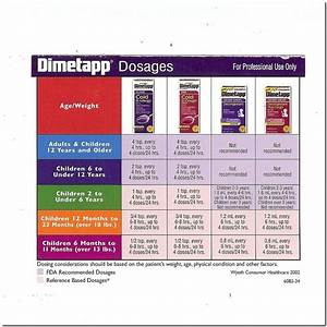 Dimetapp Nighttime Dosage By Weight Best Product Reviews