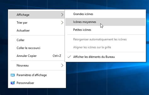 bureau windows à l envers windows 10 afficher le bureau comme un dossier liste et