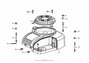 Mtd 4p90jub Engine Parts Diagram For 4p90jub Engine Shroud