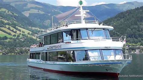 Boat Trip Zell Am See by Zell Am See Austria Big Boat Ride On The Lake