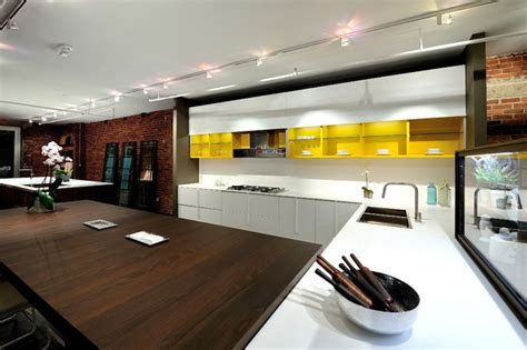 kitchen showroom design ideas effeti kitchen cabinet showroom chelsea nyc modern 5605
