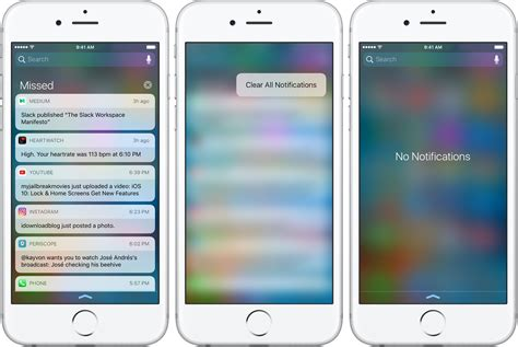 iphone lock screen notifications ios 10 preview your new lock screen with raise to
