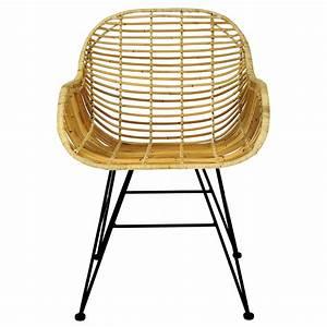 Fauteuil Rotin Design : fauteuil malacca en rotin naturel d couvrez les fauteuils malacca en rotin naturel design rdv d co ~ Nature-et-papiers.com Idées de Décoration