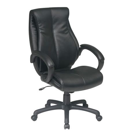 deluxe executive high back leather chair ofd 6640 office
