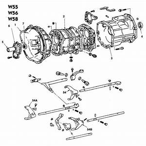 Toyota W55  W56 And W58 5 Speed Manual Transmission Parts
