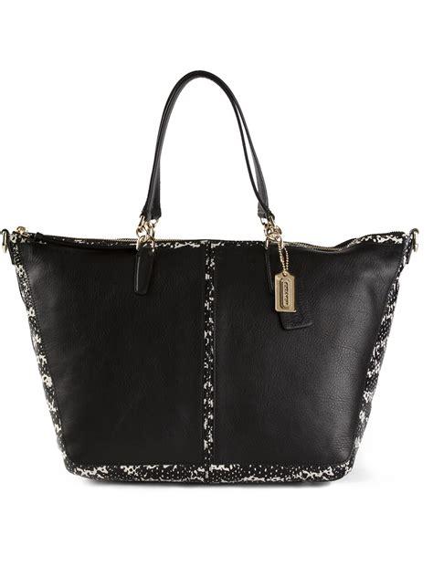 coach large tote bag  black lyst