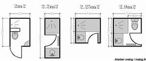 Plan Petite Salle De Bain : les petites salles de bains 2 3 m bathroom storage ~ Melissatoandfro.com Idées de Décoration
