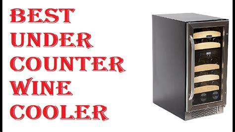 Best Cabinet Wine Cooler by Best Counter Wine Cooler 2019