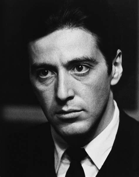 al pacino michael corleone the godfather monochrome