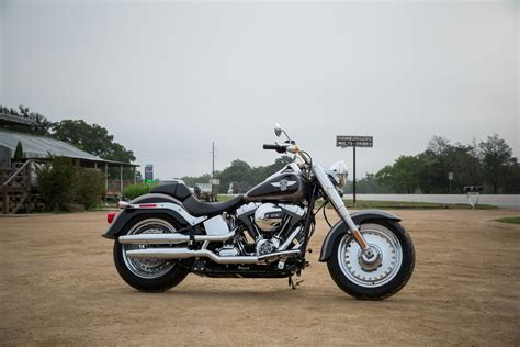 Harley Davidson Boy Image by Harley Davidson Softail Boy Flstf Test Bilder Gebrauchte