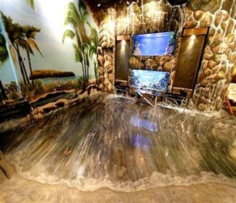 3d walls and floors home epoxy floor designs