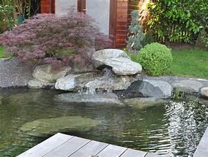 Kleiner Teich Mit Wasserfall : wasser im garten teichbau dollinger ~ Whattoseeinmadrid.com Haus und Dekorationen
