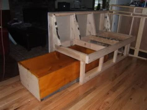 L Shaped Storage Bench Plans  Woodworking Projects & Plans