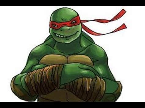 draw raphael  teenage mutant ninja turtles  tmnt youtube