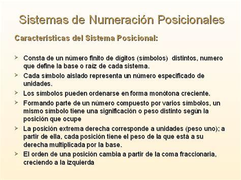 sistemas de numeracion posicionales sistemas de numeraci 243 n monografias