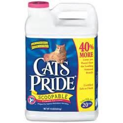 walmart cat litter cat s pride scoopable premium w odor cat litter