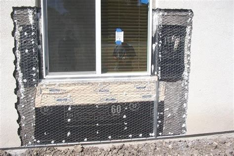stucco water walls flashing detail building coat quickflash wall windows siding keeping double barrier assembly