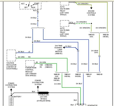 1990 Dodge W250 Wiring Diagram by Thnx In Advance For Any Help I 1990 Dodge D250