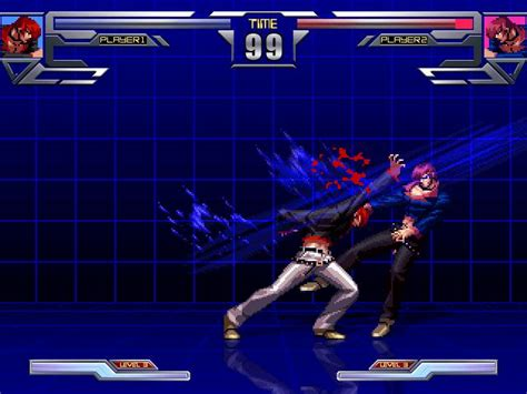 king  fighters mugen infinity zone