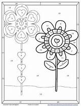 Distributive Negs Coloring Activity Number sketch template