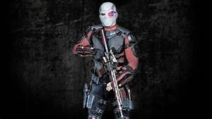Will Smith As Deadshot in Suicide Squad 2016 Movie ...