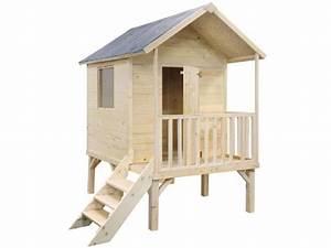 Cabane Bois Pas Cher : cabane enfant bois pas cher abri kangourou jardipolys ~ Melissatoandfro.com Idées de Décoration