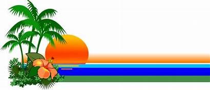 Nature Clip Clipart Florida Coast Cliparts Scene