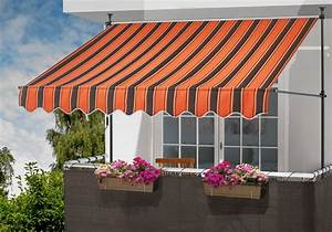 Klemmmarkisen Für Balkon : klemmmarkise orange braun breite 300 cm kaufen otto ~ Eleganceandgraceweddings.com Haus und Dekorationen