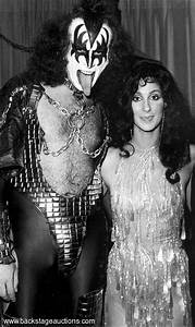with Gene Simmons | CHER | Pinterest