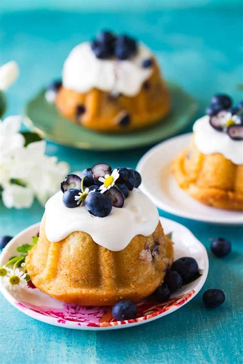 Just like my regular pound cake recipe, these mini pound cakes are moist, flavorful, and wonderfully buttery. Mini Blueberry Bundt Cakes - The Seaside Baker