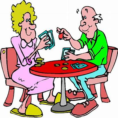 Clipart Games Clip Poker Playing Board Elderly