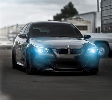 Blue Eyes, Angel Eyes, Bmw M5, Black Cars Hd Wallpapers