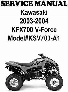 Kawasaki Kfx700 V Force 03