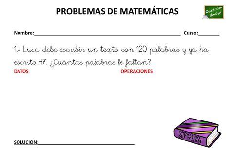 ColecciÓn De Problemas De MatemÁticas 3 º Primaria (2