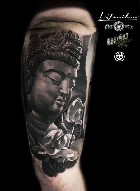 tattoocircle buddha mit lotusbluete tattoos von tattoo