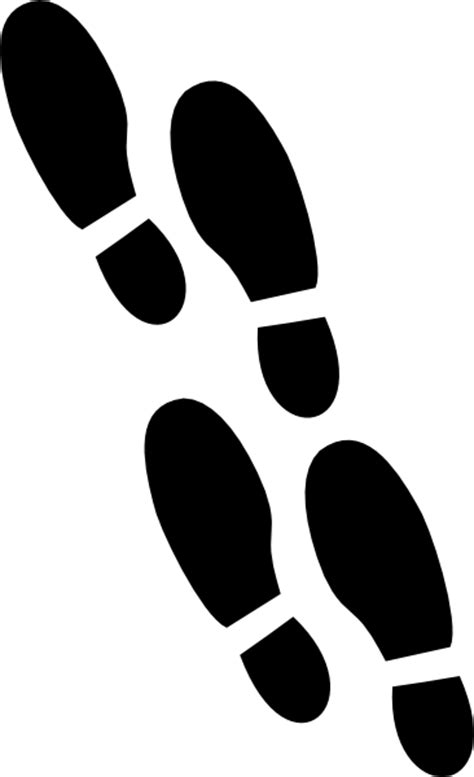 animated footsteps cliparts   clip art