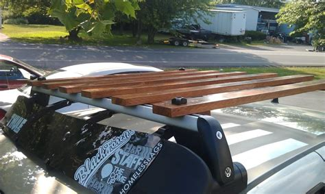 wooden roof rack ideas part  plane   roof rack