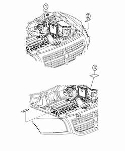 2015 Dodge Dart Label  Air Conditioning System