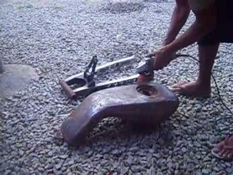 Cara Membersihkan Tangki Motor by Cara Membersihkan Karat Tangki Motor