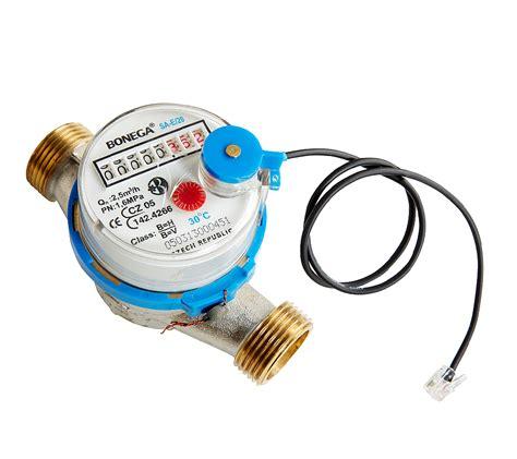 wasser sensor mit wasserzaehler warm oder kalt shop