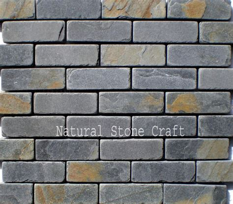 rustic side walls stone bricks size inches
