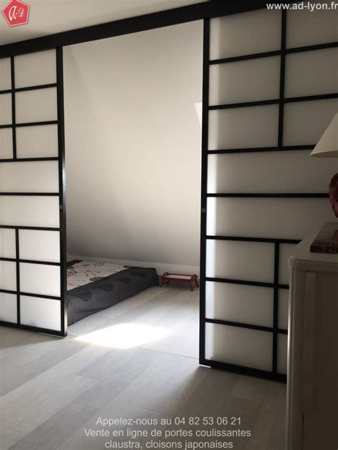cloison separation chambre 154 best images about cloison japonaise coulissante et