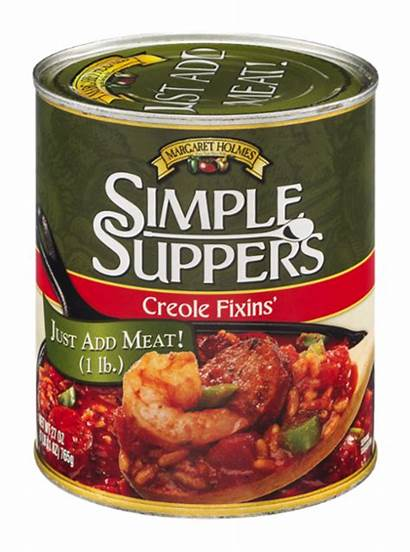Holmes Margaret Fixins Simple Suppers Creole Oz