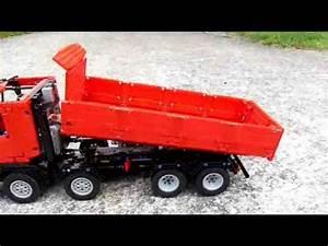 Lego Technic Camion : lego technic camion benne 8x4 youtube ~ Nature-et-papiers.com Idées de Décoration