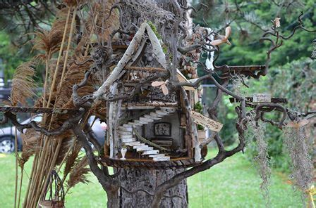 Fairy Tree House Gardening For The Fairies With Live