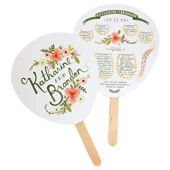 personalized wedding fans personalized fans for an outdoor wedding outdoor wedding
