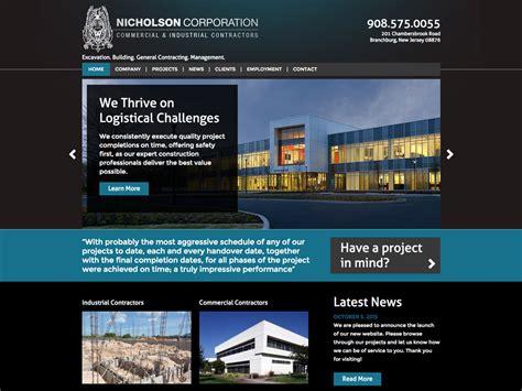 web design nj contractor website web design nj