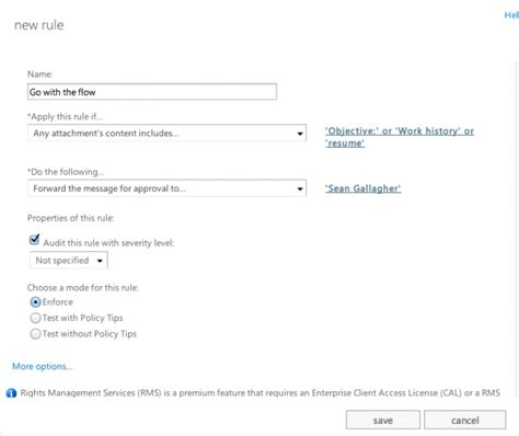 resume message exchange 2013 trigger word e mail monitoring gets easy in office 365 exchange ars technica