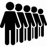 Icon Crowd Stick Line Icons Concert Management